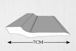 قرنیز پلی استایرن 7 سانت